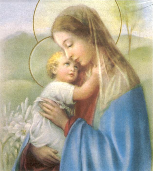 Famoso Icone Sacre - SANTA VERGINE CON BAMBINO - Scatti di Vita YJ73