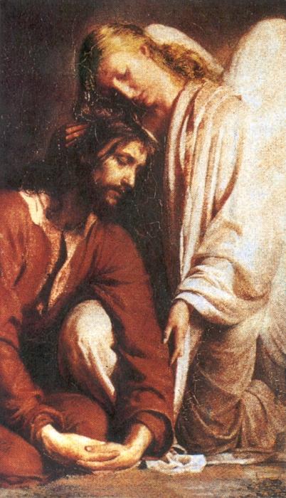 Favoloso Icone Sacre - Conforto dell'Angelo a Gesù - Scatti di Vita KF16