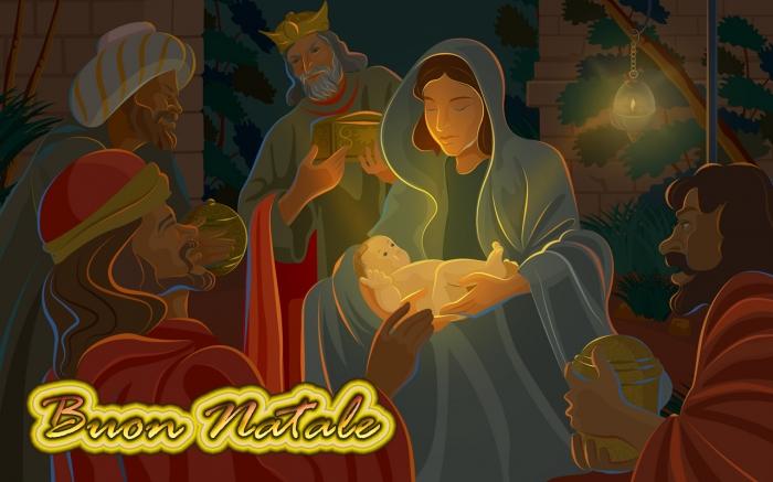 Immagini Sacre Natale.Icone Sacre Buon Natale A Tutti Scatti Di Vita