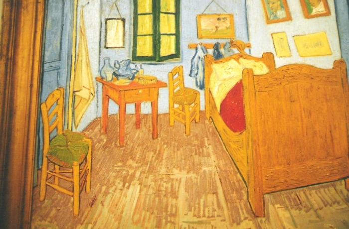 La camera da letto di van gogh foto la camera di van gogh for Disegni della stanza del fango