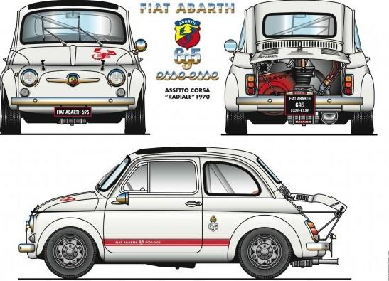 Meccanica E Movimento Fiat 500 Abarth 695 Esse Esse